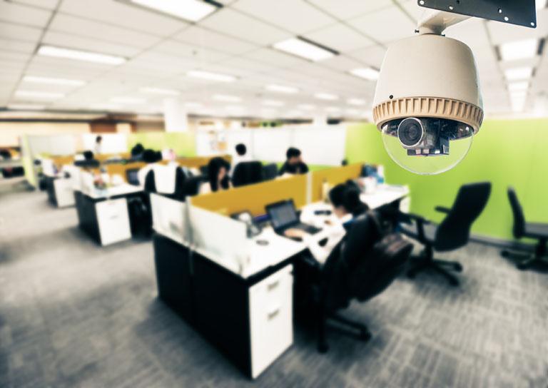 Videoüberwachung im Büro