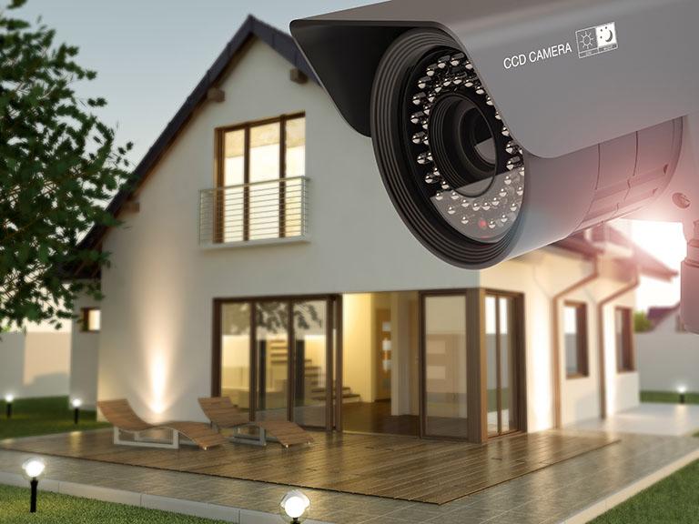 Videoüberwachung als eine Art der elektronischen Sicherheitstechnik - erhältlich bei Benz-Alarm in Stuttgart und Ludwigsburg