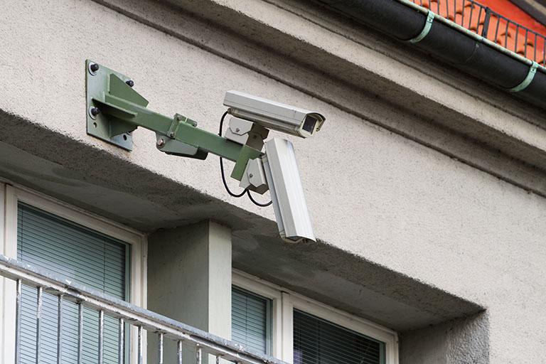 Einbruchschutz durch Videoüberwachung am Haus bei Benz-Alarm in Stuttgart und Ludwigsburg